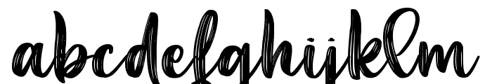 Aesthetic Violet Font LOWERCASE