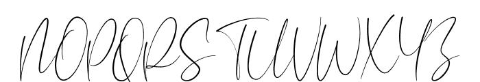 Aesthetikos Font UPPERCASE
