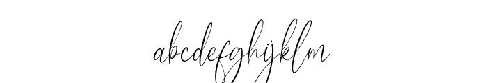 Aesthetikos Font LOWERCASE