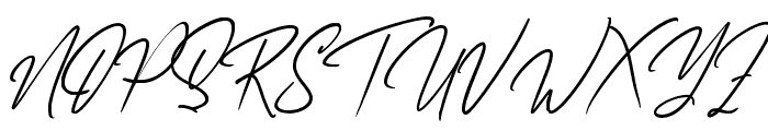 AfikaThuan Font UPPERCASE