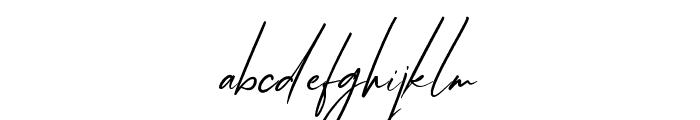 AfikaThuan Font LOWERCASE