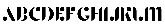 Agory Font UPPERCASE