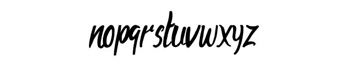AharonRegular Font LOWERCASE