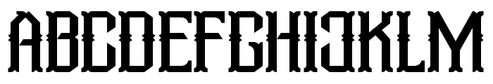Aidah-Regular Font UPPERCASE