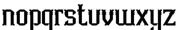 Aidah-Regular Font LOWERCASE