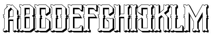 Aidah-SemiBoldExpanded Font UPPERCASE