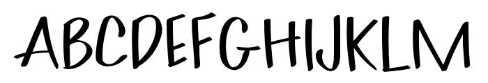 Akim-Light Font UPPERCASE