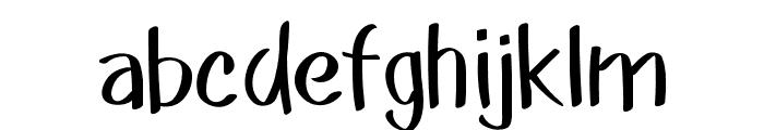 Akim-Light Font LOWERCASE
