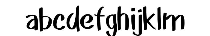Akim Font LOWERCASE