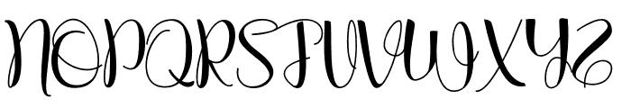 Alanastri Font UPPERCASE