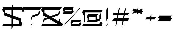 Alaviv regular Font OTHER CHARS