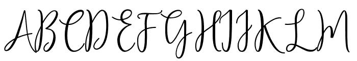 Aldabela Font UPPERCASE