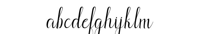 Aldatterid Font LOWERCASE
