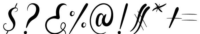 Aldira Font OTHER CHARS