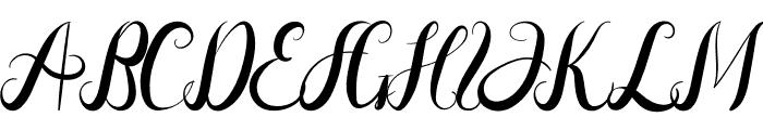 Aldira Font UPPERCASE