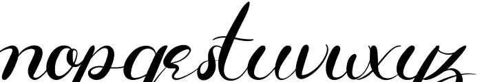 Aldira Font LOWERCASE