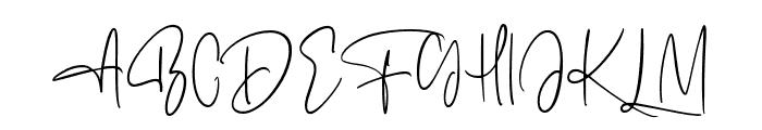 Alentropics Font UPPERCASE