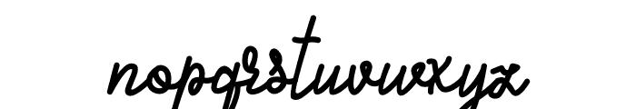 Alifia Font LOWERCASE