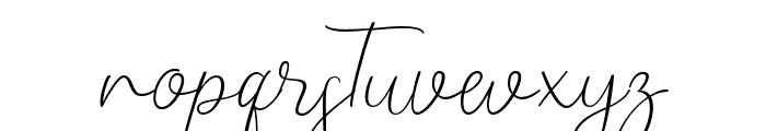 Alinda Font LOWERCASE
