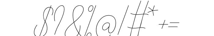 Alisha Nahwa Font OTHER CHARS