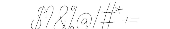 AlishaNahwa Font OTHER CHARS