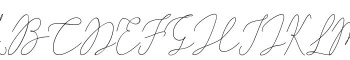 AlishaNahwa Font UPPERCASE