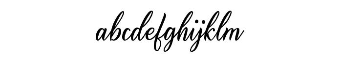 Alishader Font LOWERCASE