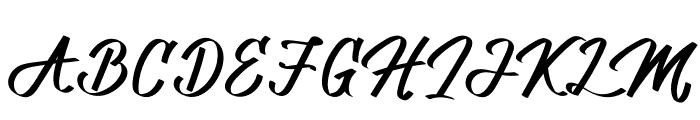 Allenattore Font UPPERCASE