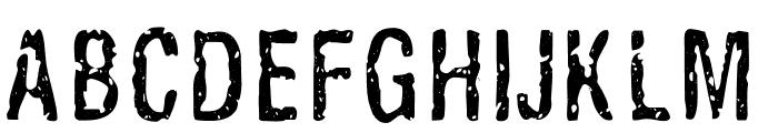 Alligator Font UPPERCASE