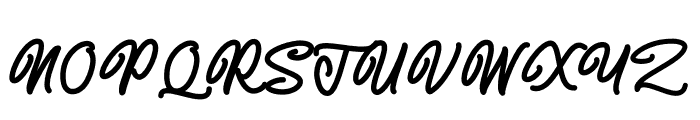 Almonthy Mirotas Font UPPERCASE