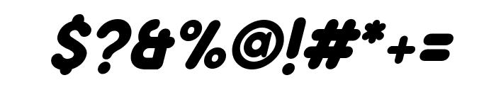 Aloha Italic Font OTHER CHARS