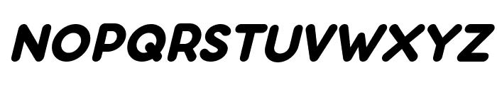Aloha Italic Font UPPERCASE