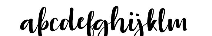 Aloha Miaw Font LOWERCASE
