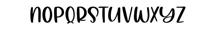 AlohaSummer Regular Font UPPERCASE