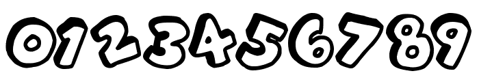 Alphabet Souplings Font OTHER CHARS