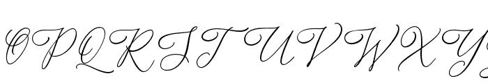 Alternation Font UPPERCASE