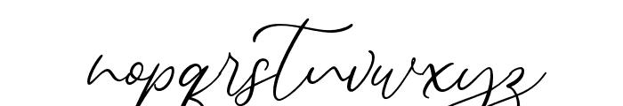 Alternation Font LOWERCASE