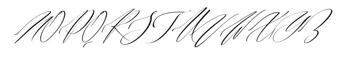 Alusinta Brenob Font UPPERCASE