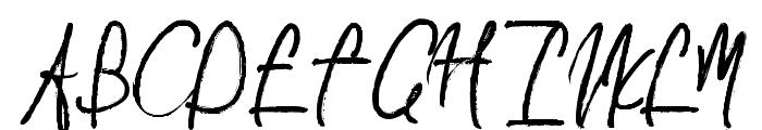 AlvaRomeo Font UPPERCASE