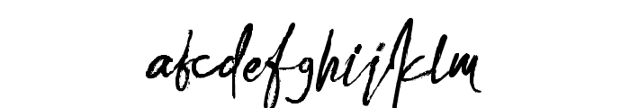 AlvaRomeo Font LOWERCASE