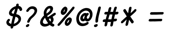 AmarillReg Italic Font OTHER CHARS