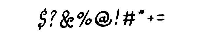 Amazing Love Font OTHER CHARS