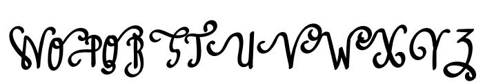 Amazing Love Font UPPERCASE