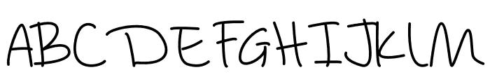 Amazing Wednesday Monoline Font UPPERCASE