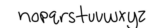Amazing Wednesday Monoline Font LOWERCASE