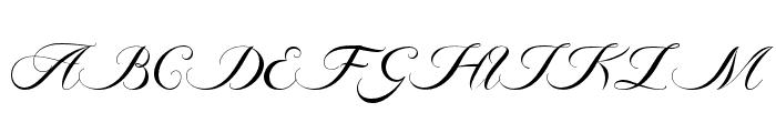 Ambergris Font UPPERCASE