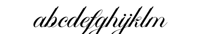 Ambergris Font LOWERCASE