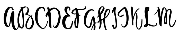 Ambrosia-Regular Font UPPERCASE