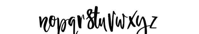 Ambrosia-Regular Font LOWERCASE
