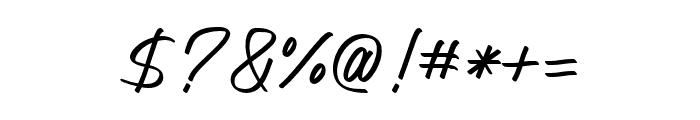 AmeliaNature-Regular Font OTHER CHARS